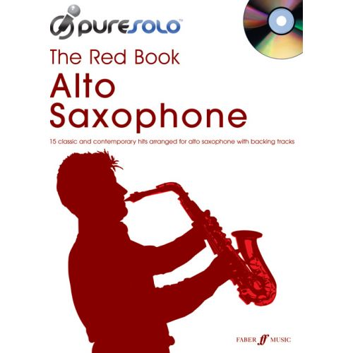 FABER MUSIC PURESOLO - RED BOOK + CD - SAXOPHONE AND PIANO