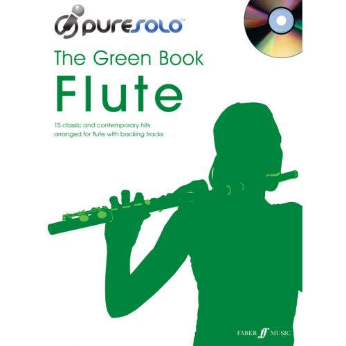 FABER MUSIC PURESOLO - GREEN BOOK + CD - FLUTE