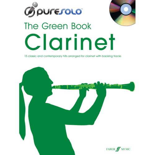 FABER MUSIC PURESOLO - GREEN BOOK + CD - CLARINET