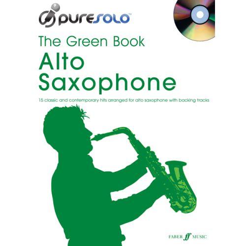 FABER MUSIC PURESOLO - GREEN BOOK + CD - SAXOPHONE