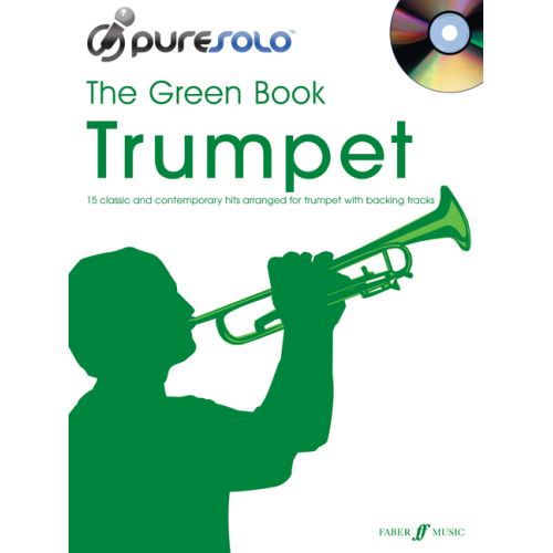 FABER MUSIC PURESOLO - GREEN BOOK + CD - SAXOPHONE