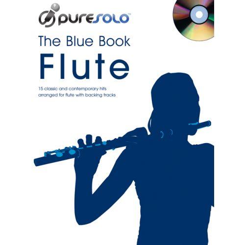 FABER MUSIC PURESOLO - BLUE BOOK + CD - FLUTE SOLO