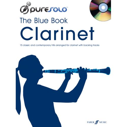 FABER MUSIC PURESOLO - BLUE BOOK + CD - CLARINET SOLO