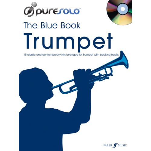 FABER MUSIC PURESOLO - BLUE BOOK + CD - TRUMPET SOLO