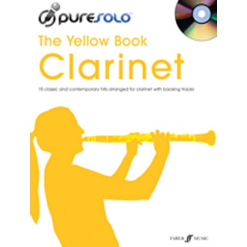 FABER MUSIC PURESOLO YELLOW BOOK + CD - CLARINET