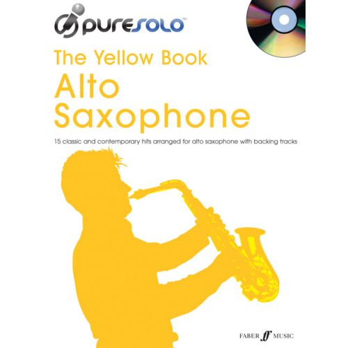 FABER MUSIC PURESOLO YELLOW BOOK + CD - ALTO SAX