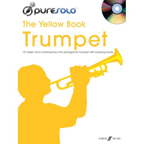 FABER MUSIC PURESOLO YELLOW BOOK + CD - TRUMPET