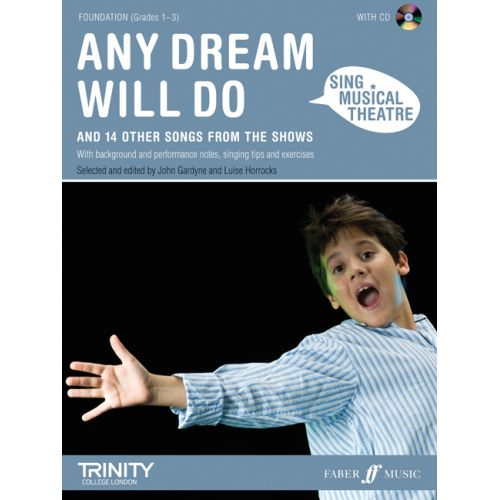 FABER MUSIC SING MUSICAL THEATRE : ANY DREAM WILL DO + CD