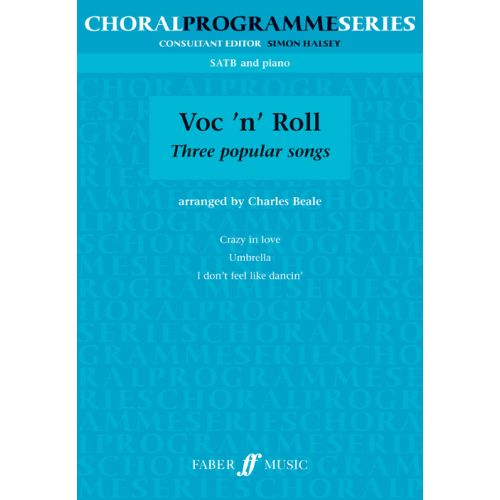FABER MUSIC VOC'N'ROLL - SATB AND PIANO