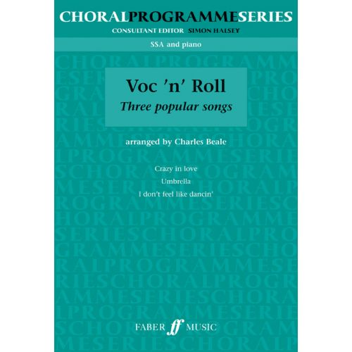 FABER MUSIC VOC'N'ROLL - SSA AND PIANO
