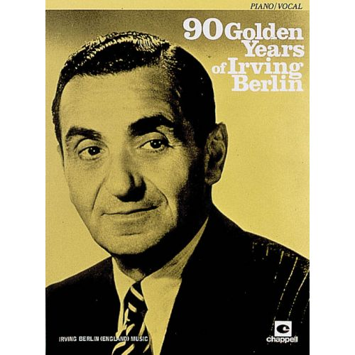 FABER MUSIC BERLIN IRVING - 90 GOLDEN YEARS - PIANO