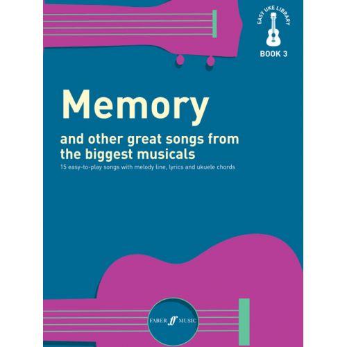 FABER MUSIC EASY UKE LIBRARY - MEMORY - UKULELE