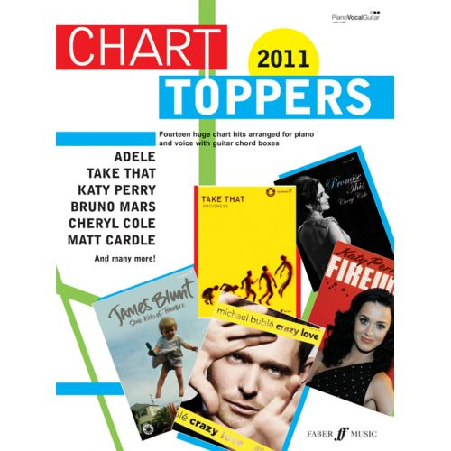 FABER MUSIC CHART TOPPERS 2011 - PVG