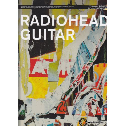 FABER MUSIC RADIOHEAD GUITAR TAB + CD