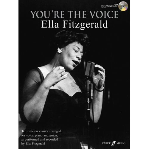 FABER MUSIC FITZGERALD ELLA - YOU'RE THE VOICE + CD - PVG