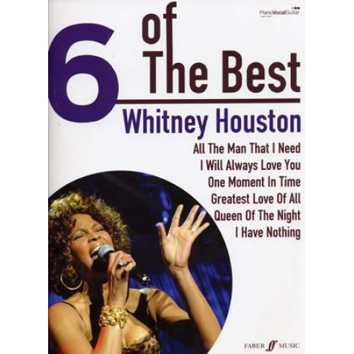 FABER MUSIC HOUSTON WHITNEY - 6 OF THE BEST - PVG