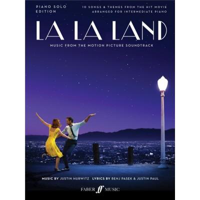 FABER MUSIC JUSTIN HURWITZ - LA LA LAND (MUSIQUE DU FILM) - PIANO SOLO EDITION
