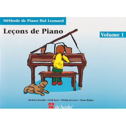 DEHASKE METHODE DE PIANO HAL LEONARD VOL.1 LEÇONS DE PIANO + CD