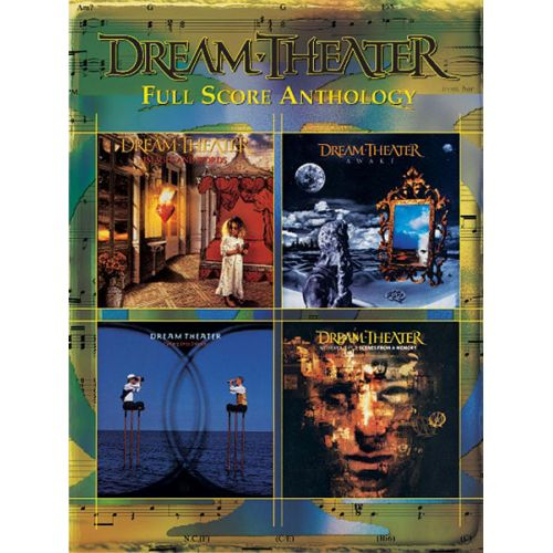 ALFRED PUBLISHING DREAM THEATER - DREAM THEATER FULL SCORE ANTHOLOGY - GUITAR TAB