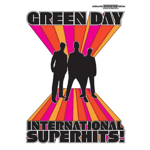 ALFRED PUBLISHING GREEN DAY - INTERNATIONAL SUPERHITS! - GUITAR TAB