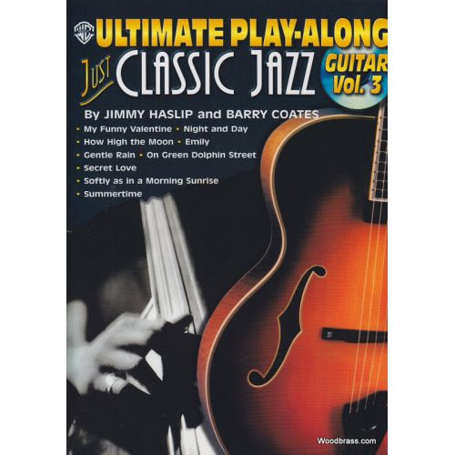ALFRED PUBLISHING CLASSIC JAZZ FOR GTR V3 + CD - GUITAR