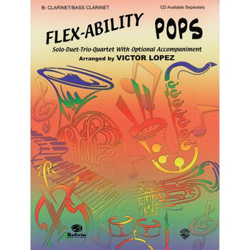 ALFRED PUBLISHING FLEX ABILITY POPS - CLARINET AND PIANO