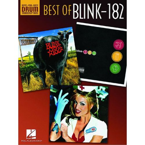 HAL LEONARD BLINK 182 - BEST OF - DRUMS & PERCUSSION