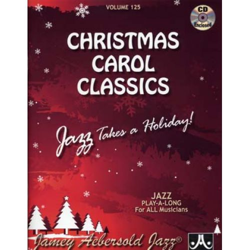 AEBERSOLD AEBERSOLD N°125 - CHRISTMAS CAROL CLASSICSS + CD