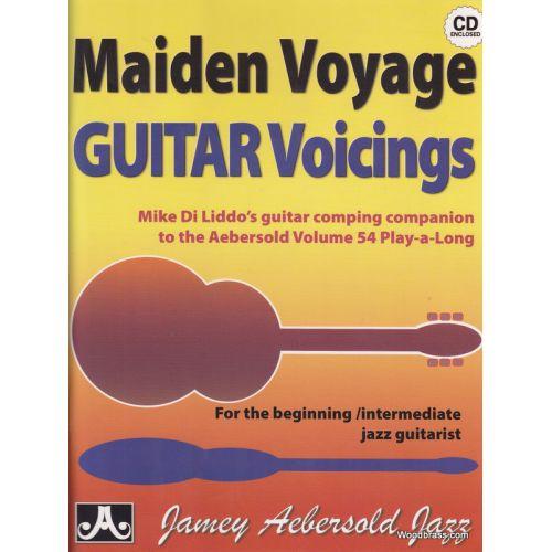 AEBERSOLD DILIDDO M. - MAIDEN VOYAGE GUITAR VOICINGS