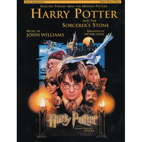 ALFRED PUBLISHING WILLIAMS JOHN - HARRY POTTER - PHILOSOPHER'S STONE - SAXOPHONE AND PIANO