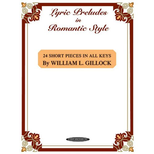 ALFRED PUBLISHING LYRIC PRELUDES IN ROMANTIC STYLE - PIANO