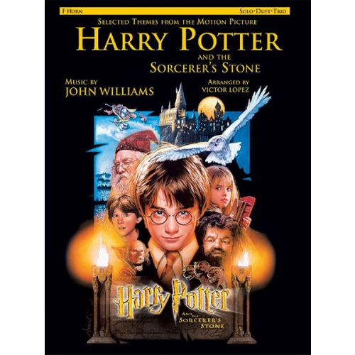 ALFRED PUBLISHING WILLIAMS JOHN - HARRY POTTER - PHILOSOPHER'S STONE - FRENCH HORN AND PIANO