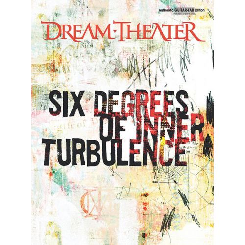ALFRED PUBLISHING DREAM THEATER - SIX DEGREES OF INNER TURBULENCE - GUITAR TAB