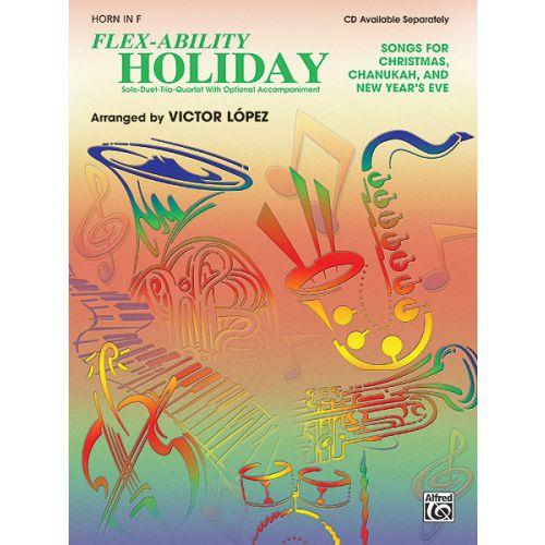 ALFRED PUBLISHING FLEX ABILITY HOLIDAY - FRENCH HORN