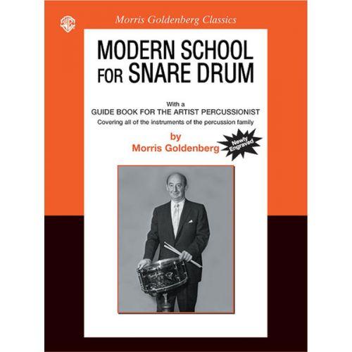 ALFRED PUBLISHING GOLDENBERG M. - MODERN SCHOOL FOR SNARE DRUM - DRUM