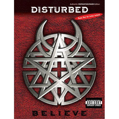 ALFRED PUBLISHING DISTURBED - BELIEVE - GUITAR TAB