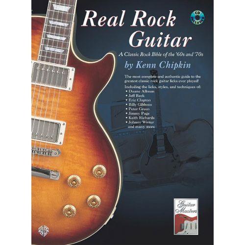 ALFRED PUBLISHING REAL ROCK GUITAR + CD - GUITAR