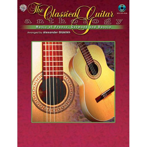 ALFRED PUBLISHING CLASSICAL GUITAR ANTHOLOGY + CD - GUITAR