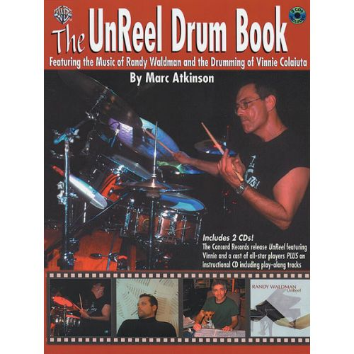 ALFRED PUBLISHING UNREEL DRUM BOOK + 2 CD - DRUMS & PERCUSSION