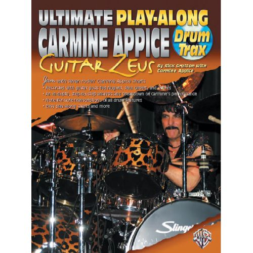 ALFRED PUBLISHING APPICE CARMINE - CARMINE APPICE GTR ZEUS ULT PLAY - DRUMS & PERCUSSION