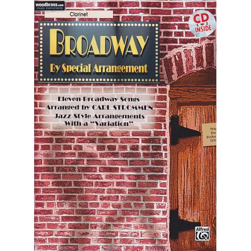 ALFRED PUBLISHING BROADWAY BY SPECIAL ARRANGEMENT + CD - CLARINETTE