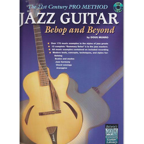 IMP DOUG MUNRO - JAZZ GUITAR BEBOP AND BEYOND + CD