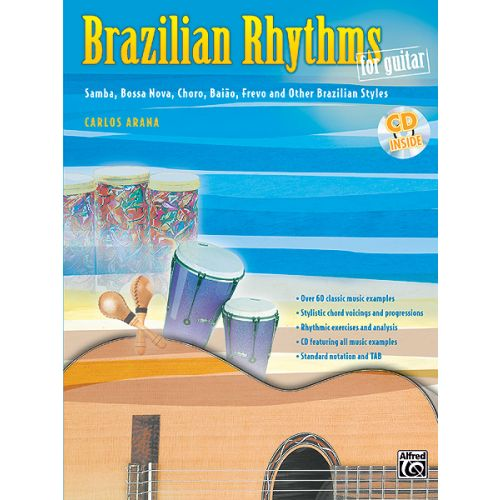 ALFRED PUBLISHING BRAZILIAN RHYTHMS FOR GUITAR - GUITAR