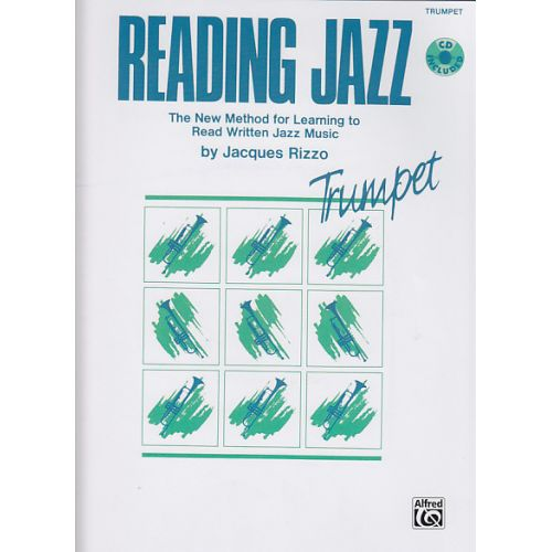 ALFRED PUBLISHING RIZZO JACQUES - READING JAZZ + CD - TRUMPET
