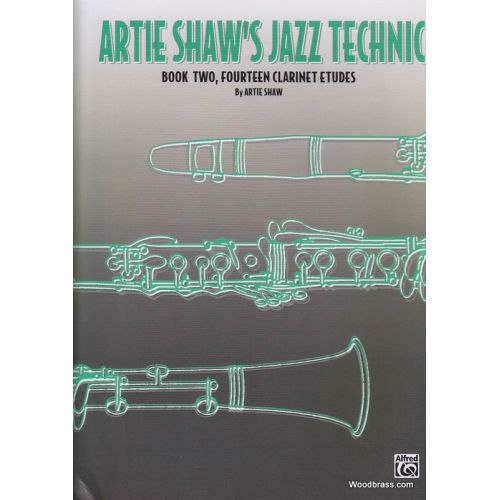 ALFRED PUBLISHING ARTIE SHAW'S JAZZ TECHNIC BOOK 2