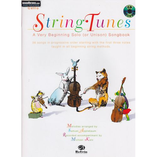 BELWIN APPLEBAUM SAMUEL -STRING TUNES FOR CELLO + CD