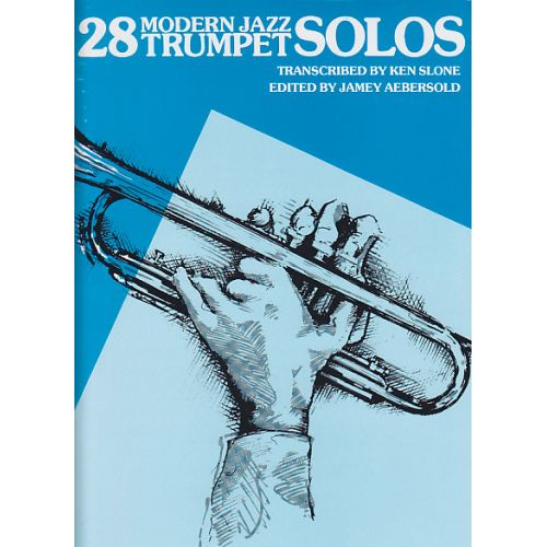 ALFRED PUBLISHING 28 MODERN JAZZ TRUMPET SOLOS BOOK 1