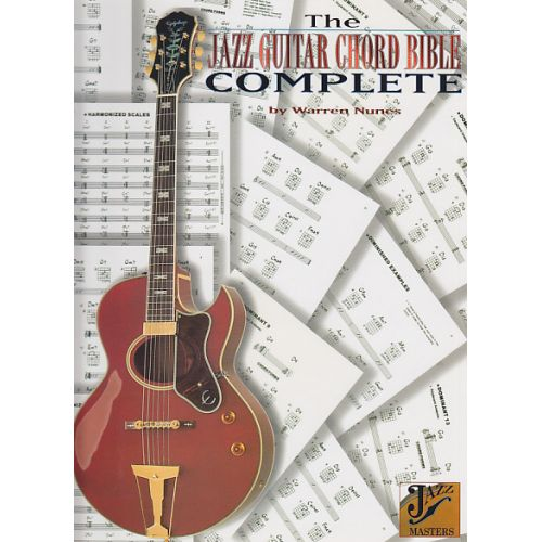 ALFRED PUBLISHING WARREN NUNES - THE COMPLETE JAZZ GUITAR CHORD BIBLE