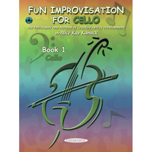ALFRED PUBLISHING KANACK ALICE KAY - FUN IMPROVISATION + CD - CELLO AND PIANO
