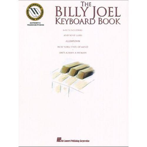 HAL LEONARD THE BILLY JOEL KEYBOARD BOOK - NOTE FOR NOTE KEYBOARD TRANSCRIPTIONS